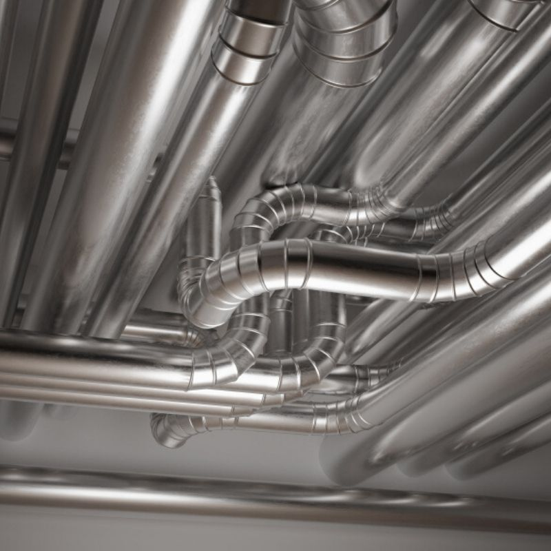 blizzard cooling ductwork