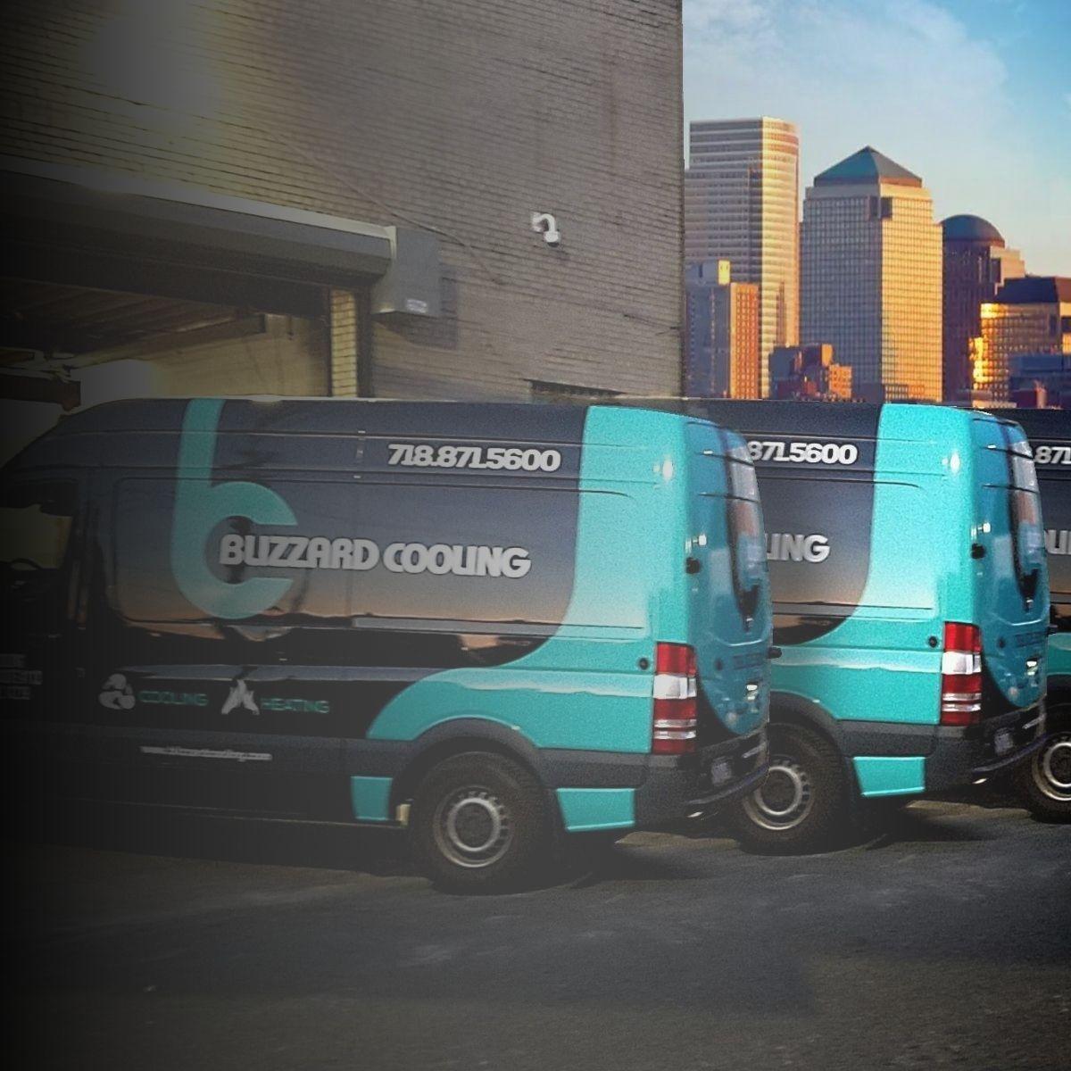 blizzard cooling vans